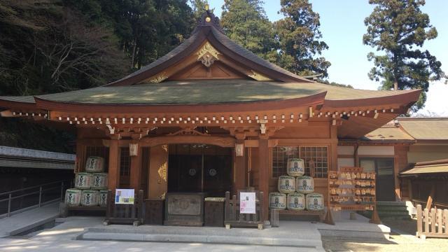 埼玉県高麗神社の本殿