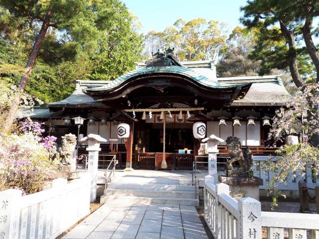 芦屋神社の本殿