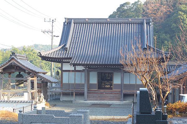 京都府宗教法人 古城山 光明寺の本殿