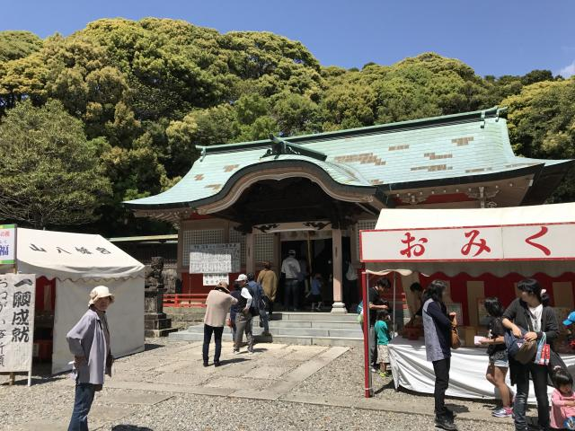 宮崎県今山八幡宮の本殿