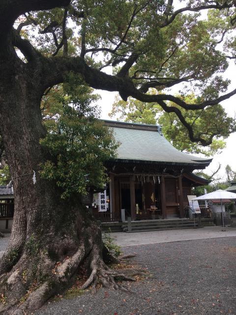 熊本県北岡神社の本殿