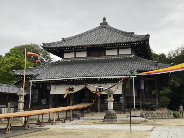 愛知県蓮華寺の本殿