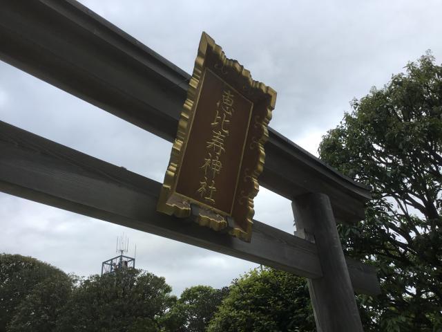 東京都恵比寿神社の鳥居