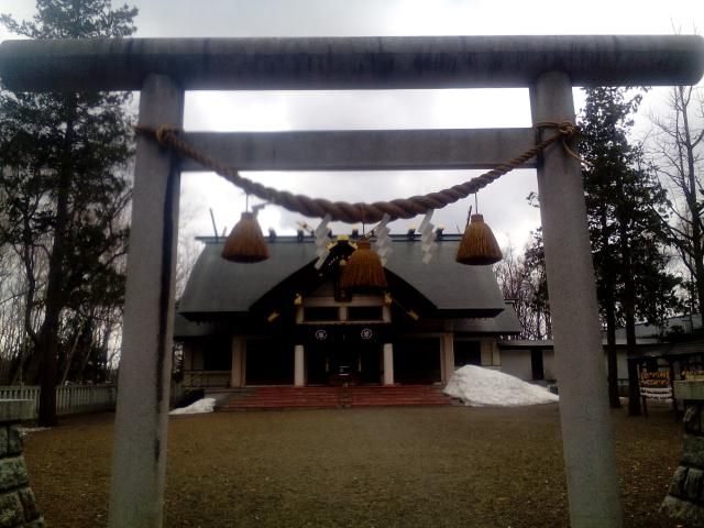 岩見沢神社の鳥居
