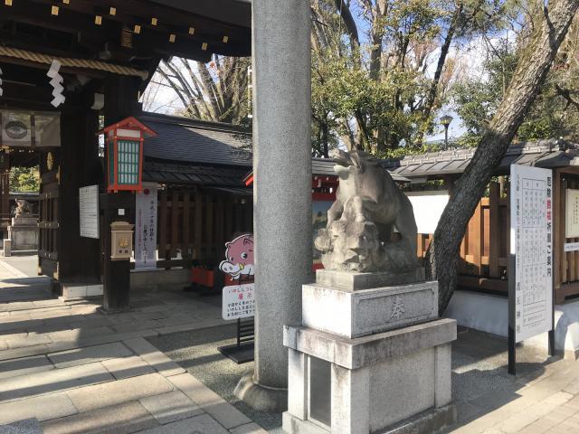 護王神社の狛犬