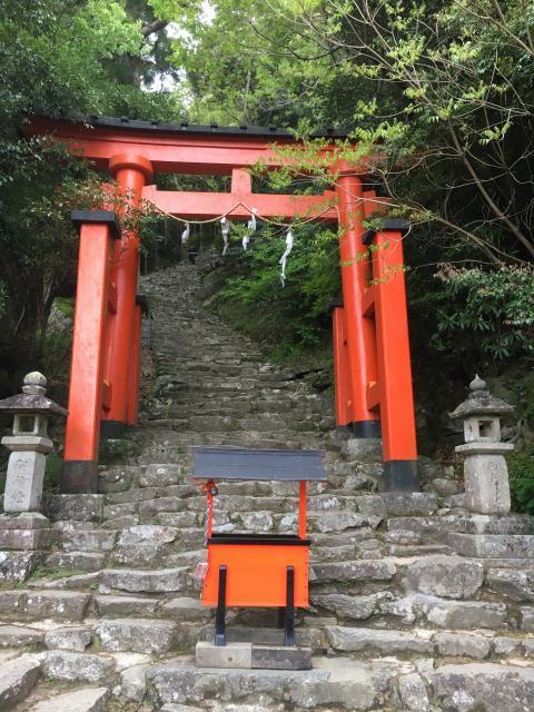 和歌山県神倉神社の鳥居
