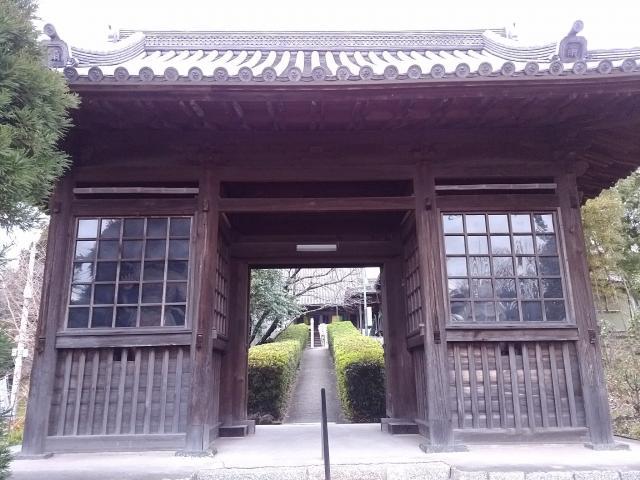 雨尾山 観福寺の山門