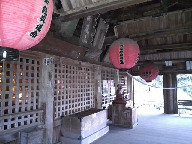 雨尾山 観福寺の本殿
