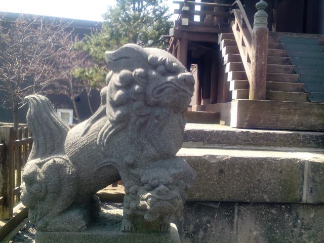 札幌神社の狛犬