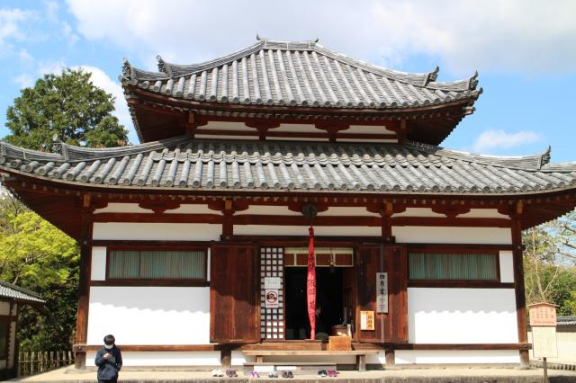 東大寺三昧堂(四月堂)の本殿