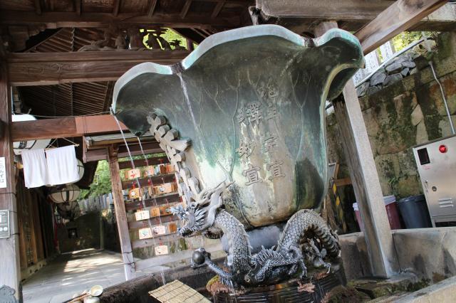 東大寺二月堂の手水