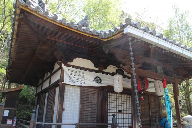 東大寺不動堂の本殿