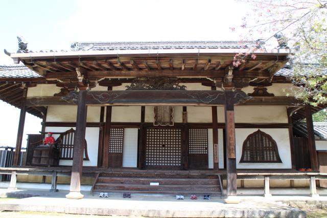 奈良県東大寺指図堂の本殿