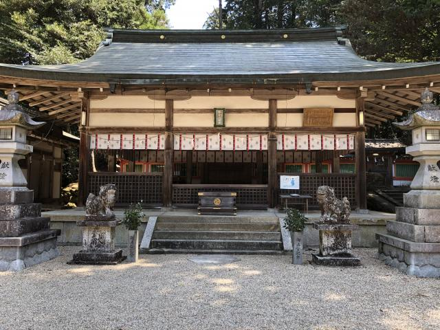 奈良県都祁水分神社の本殿