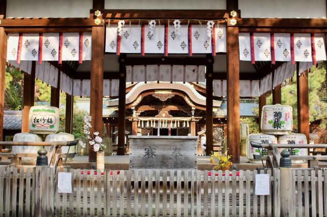京都府御霊神社(上御霊神社)の本殿