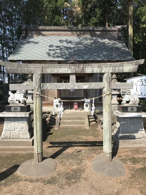 群馬県羊神社の本殿