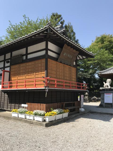 群馬県咲前神社の本殿