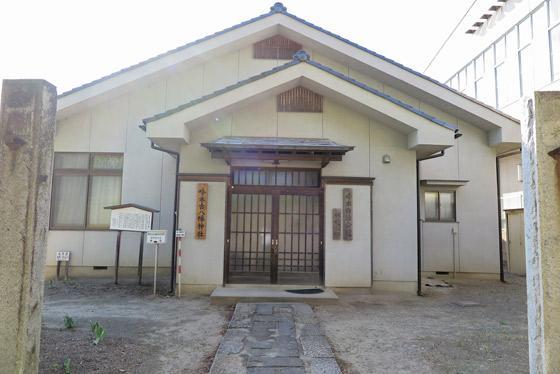 八幡神社の本殿
