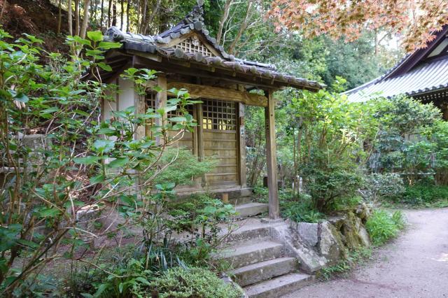 京都府岩船寺の本殿