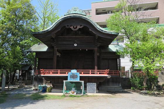 穴切大神社の本殿
