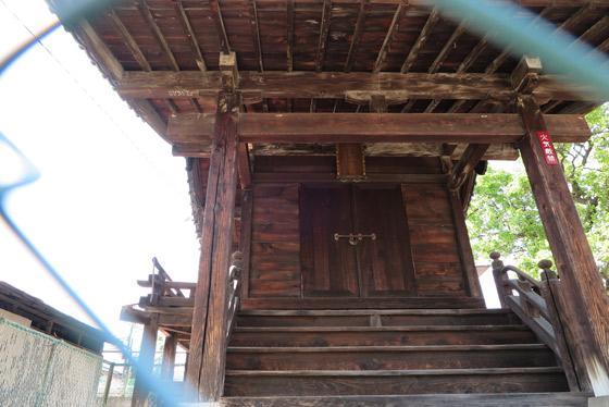山梨県秋葉神社の本殿