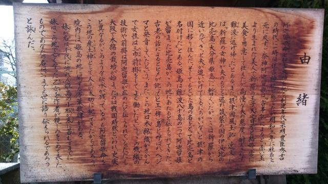 姫嶋神社の歴史