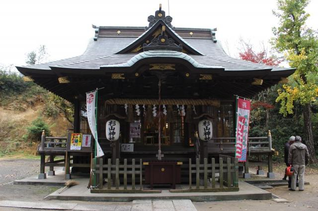 東京都杉山神社の本殿