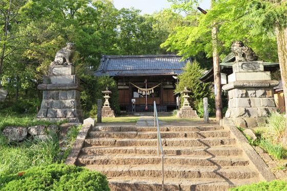 山梨県甲斐総社八幡神社の建物その他