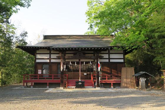 山梨県愛宕神社の本殿