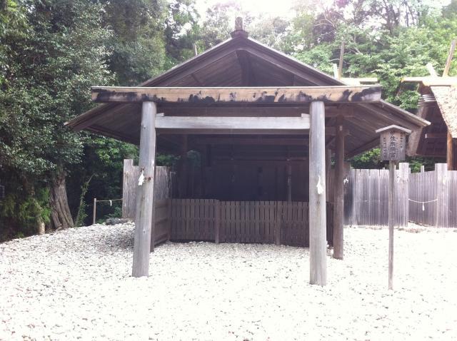 三重県月読宮の本殿