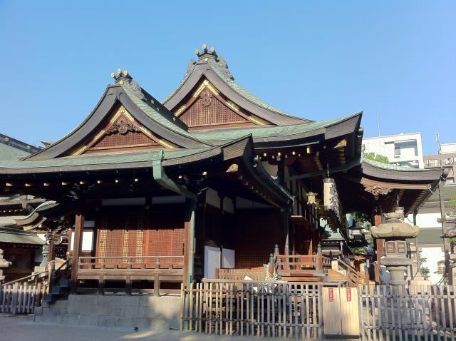 大阪府枚岡神社の本殿