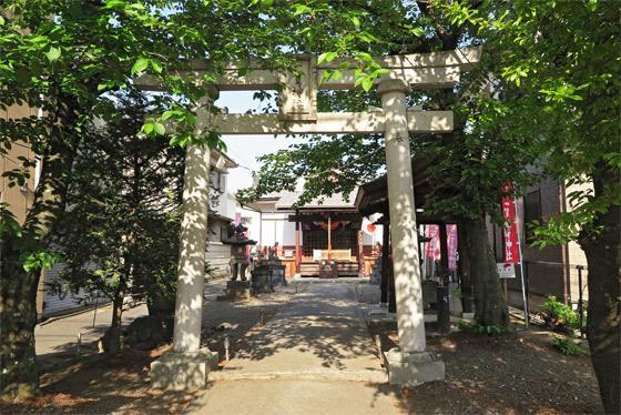 山梨県一実神社の鳥居