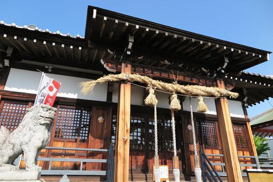 浅間神社の末社