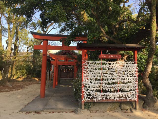 佐賀県唐津神社の鳥居