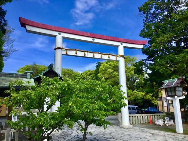 神奈川県鎌倉宮の本殿
