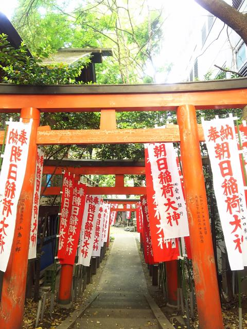 愛知県朝日神社の本殿