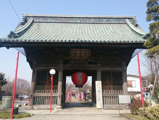 埼玉県大聖寺の山門