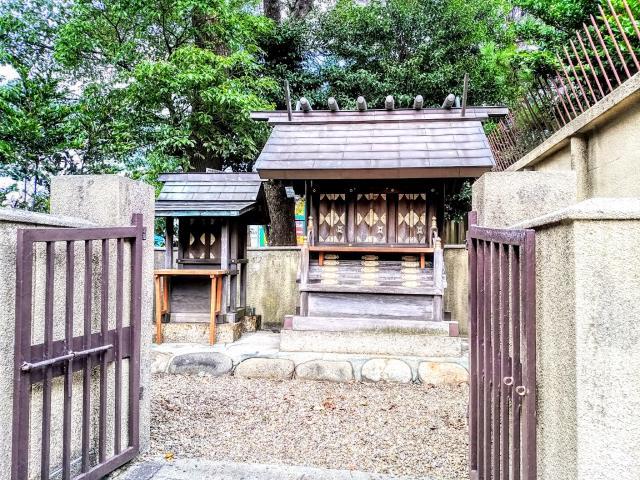 八幡社(渡内八幡社)の近くの神社お寺|神明社