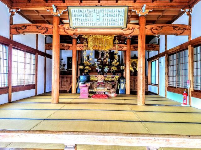 愛知県瑞雲山 玄猷寺の本殿