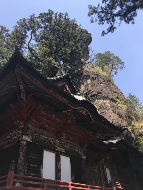 群馬県榛名神社の本殿