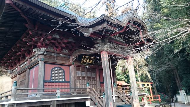 栃木県太山寺の本殿