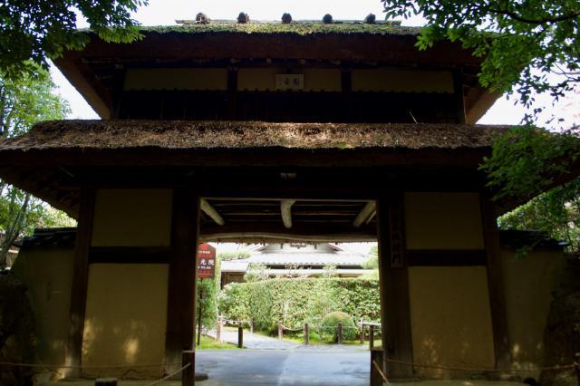 慈光院の山門