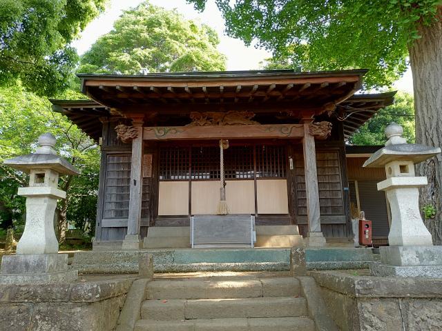 神奈川県落幡神社の本殿