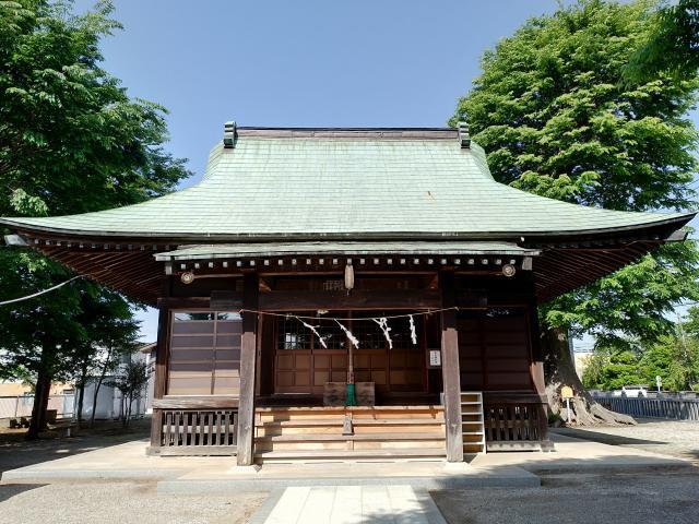 神奈川県真田神社の本殿