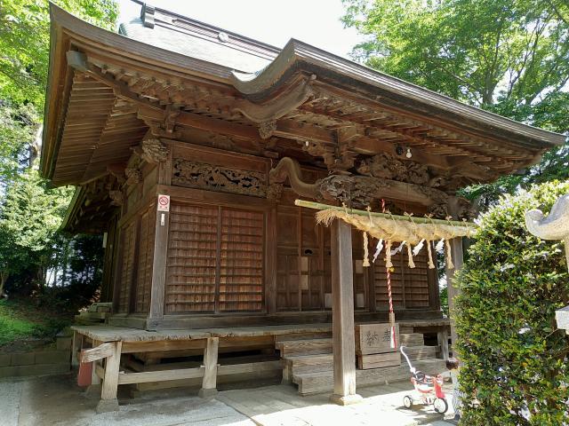 神奈川県北金目神社の本殿