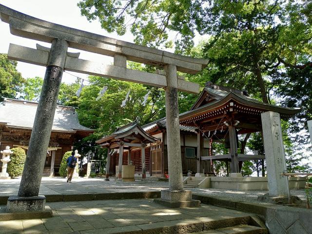 神奈川県北金目神社の鳥居