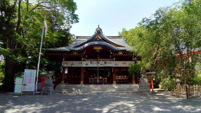 鈴鹿明神社(神奈川県座間駅) - 本殿・本堂の写真