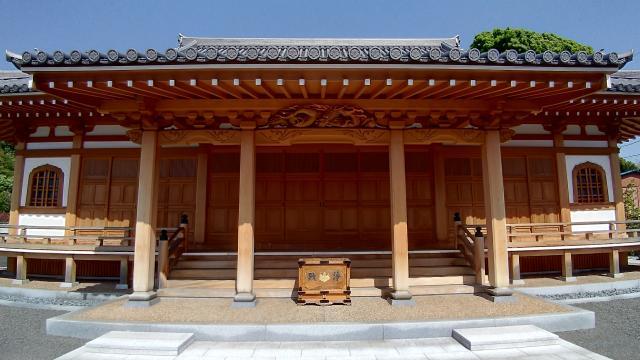 竜源院の本殿
