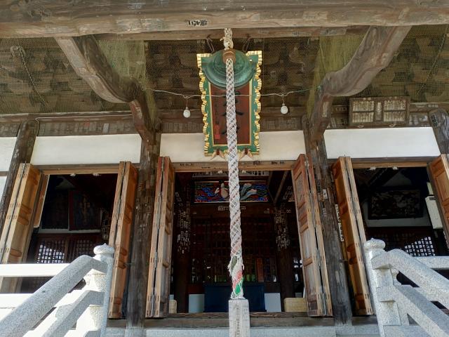 神奈川県星谷寺の本殿
