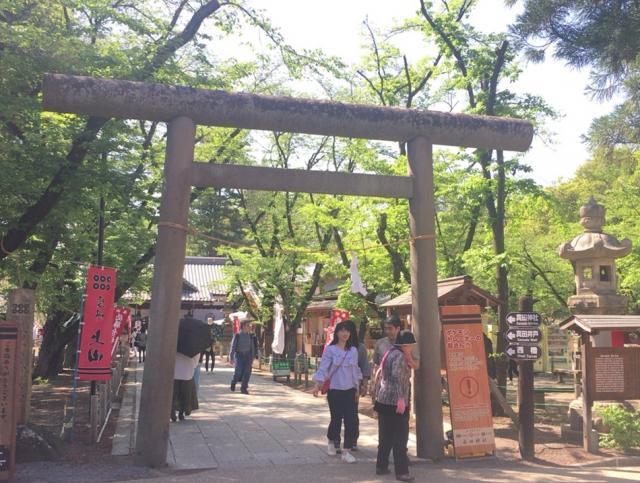 長野県眞田神社の本殿